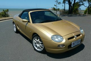 2000 MG F MY2001 Gold 5 Speed Manual Roadster.