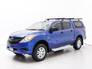 2012 Mazda BT-50 XT (4x4) Blue 6 Speed Automatic Dual Cab Utility.