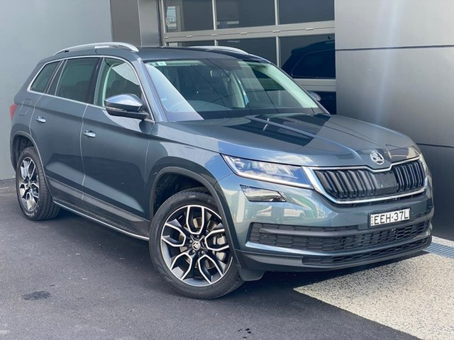 Used Skoda Kodiaq NS MY19 132TSI DSG Hobart, 2019 Skoda Kodiaq NS MY19 132TSI DSG Grey 7 Speed Sports Automatic Dual Clutch Wagon