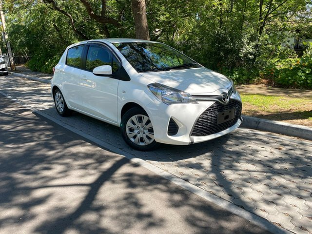 Used Toyota Yaris NCP130R Ascent, 2016 Toyota Yaris NCP130R Ascent White 4 Speed Automatic Hatchback