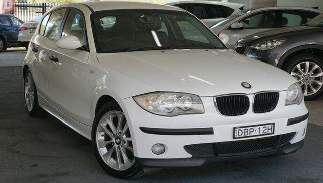 Used BMW 116i E87 116i, 2006 BMW 116i E87 116i White 5 Speed Manual Hatchback