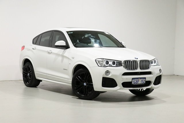 Used BMW X4 F26 MY15 xDrive 30D, 2015 BMW X4 F26 MY15 xDrive 30D White 8 Speed Automatic Coupe