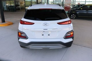2020 Hyundai Kona OS.3 MY20 Elite 2WD Chalk White 6 Speed Sports Automatic Wagon