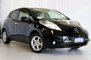 2014 Nissan Leaf ZE0 Black 1 Speed Automatic Hatchback.