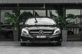 2015 Mercedes-Benz CLA-Class C117 806MY CLA45 AMG SPEEDSHIFT DCT 4MATIC Black 7 Speed.