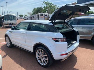 2012 Land Rover Range Rover Evoque LV SD4 Dynamic White 6 Speed Automatic Coupe