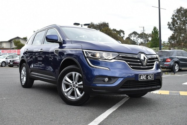 Used Renault Koleos HZG Zen X-tronic, 2017 Renault Koleos HZG Zen X-tronic Blue/black and Cream 1 Speed Constant Variable Wagon