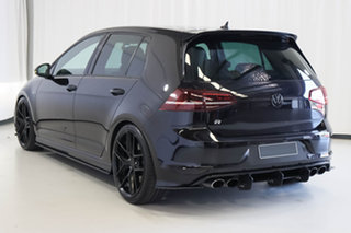 2017 Volkswagen Golf VII MY17 R DSG 4MOTION Black 6 Speed Sports Automatic Dual Clutch Hatchback.