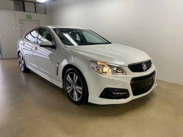 Used Holden Commodore VF MY15 SV6, 2015 Holden Commodore VF MY15 SV6 White 6 Speed Automatic Sedan