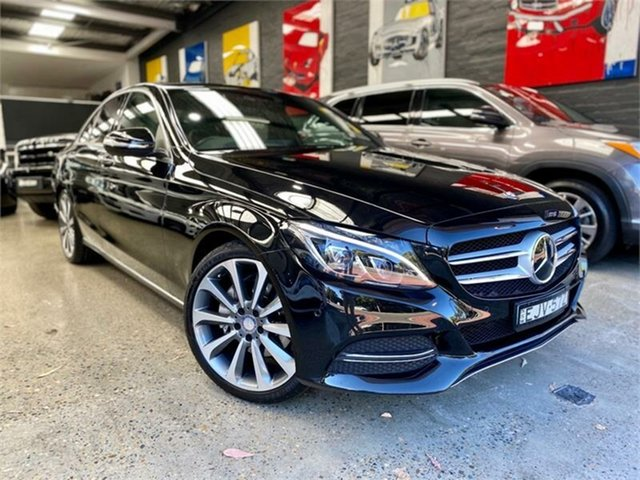 Used Mercedes-Benz C-Class W205 , 2015 Mercedes-Benz C-Class W205 C250 d Obsidian Black Sports Automatic Sedan