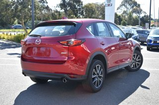2018 Mazda CX-5 KF4W2A GT SKYACTIV-Drive i-ACTIV AWD Red/Black 6 Speed Sports Automatic Wagon