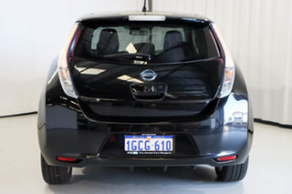 2014 Nissan Leaf ZE0 Black 1 Speed Automatic Hatchback