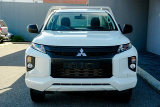 2019 Mitsubishi Triton MR MY20 GLX White 6 Speed Sports Automatic Cab Chassis