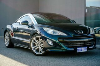 2011 Peugeot RCZ Blue 6 Speed Manual Coupe.
