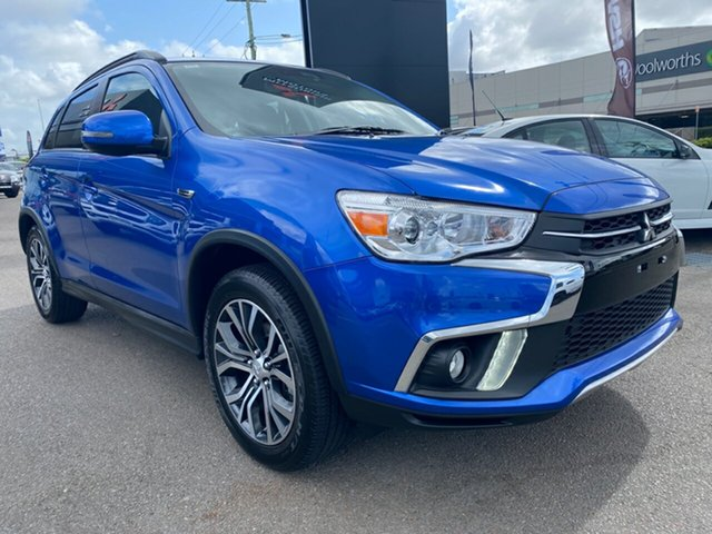 Used Mitsubishi ASX XC MY18 LS 2WD, 2018 Mitsubishi ASX XC MY18 LS 2WD Blue 1 Speed Constant Variable Wagon
