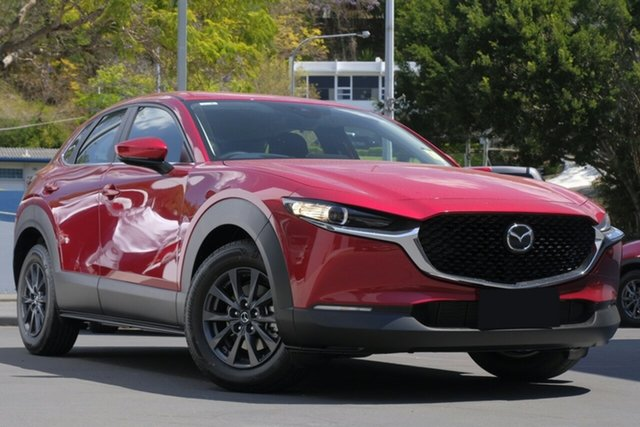 New Mazda CX-30 DM2W7A G20 SKYACTIV-Drive Pure, 2020 Mazda CX-30 DM2W7A G20 SKYACTIV-Drive Pure Soul Red 6 Speed Sports Automatic Wagon