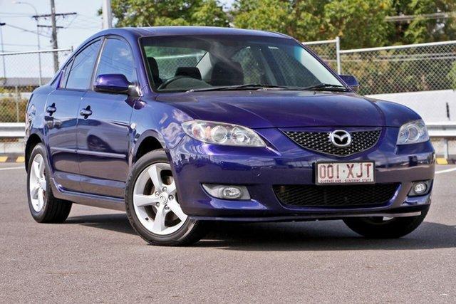 Used Mazda 3 BK10F2 Maxx, 2006 Mazda 3 BK10F2 Maxx Midnight Purple 4 Speed Sports Automatic Hatchback