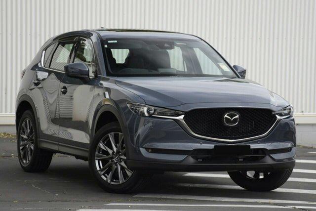 New Mazda CX-5 KF4WLA Akera SKYACTIV-Drive i-ACTIV AWD Hillcrest, 2020 Mazda CX-5 KF4WLA Akera SKYACTIV-Drive i-ACTIV AWD Polymetal Grey 6 Speed Sports Automatic
