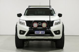 2016 Nissan Navara NP300 D23 ST-X (4x4) White 6 Speed Manual Dual Cab Utility.