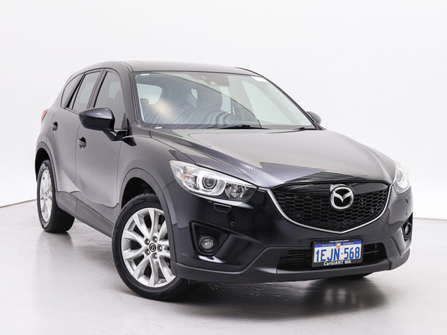Used Mazda CX-5 MY13 Upgrade Akera (4x4), 2013 Mazda CX-5 MY13 Upgrade Akera (4x4) Black 6 Speed Automatic Wagon