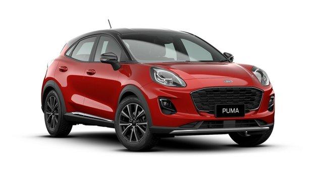 New Ford Puma JK 2020.75MY DCT, 2020 Ford Puma JK 2020.75MY DCT Lucid Red 7 Speed Sports Automatic Dual Clutch Wagon