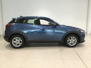 2019 Mazda CX-3 DK2W7A Maxx SKYACTIV-Drive FWD Sport Eternal Blue 6 Speed Sports Automatic Wagon.
