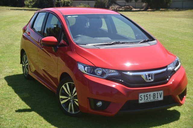 Used Honda Jazz GF MY15 VTi-S, 2015 Honda Jazz GF MY15 VTi-S Red 1 Speed Constant Variable Hatchback
