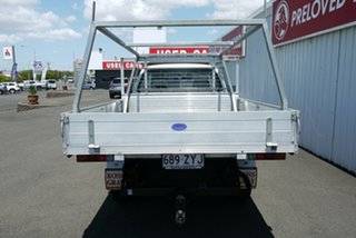 2006 Mitsubishi Triton MK MY06 GLX White 5 Speed Manual Cab Chassis