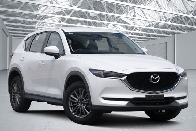 Used Mazda CX-5 MY18 (KF Series 2) Maxx Sport (4x2) Eagle Farm, 2018 Mazda CX-5 MY18 (KF Series 2) Maxx Sport (4x2) White 6 Speed Automatic Wagon