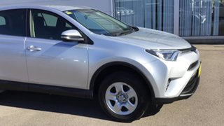 2016 Toyota RAV4 ASA44R GX AWD Silver 6 Speed Sports Automatic Wagon.