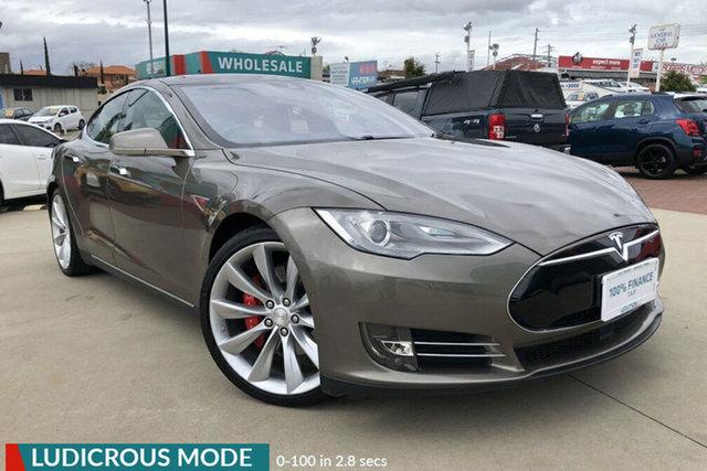 Used Tesla Model S P90D Victoria Park, 2015 Tesla Model S P90D Bronze 1 Speed Automatic Hatchback
