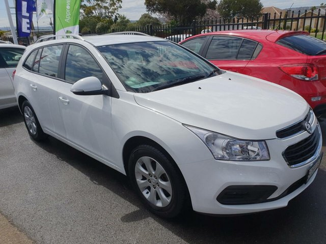 Used Holden Cruze JH Series II MY15 CD Sportwagon Morphett Vale, 2015 Holden Cruze JH Series II MY15 CD Sportwagon White 6 Speed Sports Automatic Wagon