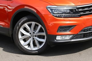 2016 Volkswagen Tiguan 5N MY17 140TDI DSG 4MOTION Highline Orange 7 Speed