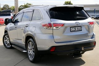 2014 Toyota Kluger GSU55R Grande AWD Silver 6 Speed Sports Automatic Wagon.