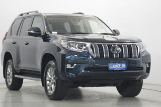 2019 Toyota Landcruiser Prado GDJ150R VX Blue 6 Speed Sports Automatic Wagon