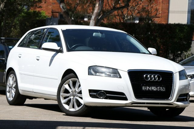Used Audi A3 8P MY11 TFSI Sportback S Tronic Ambition, 2011 Audi A3 8P MY11 TFSI Sportback S Tronic Ambition 7 Speed Sports Automatic Dual Clutch Hatchback