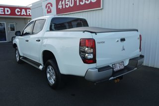 2019 Mitsubishi Triton MR MY20 GLX+ Double Cab White 6 Speed Sports Automatic Utility