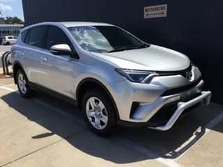 2016 Toyota RAV4 ALA49R GX AWD Silver 6 Speed Sports Automatic Wagon.