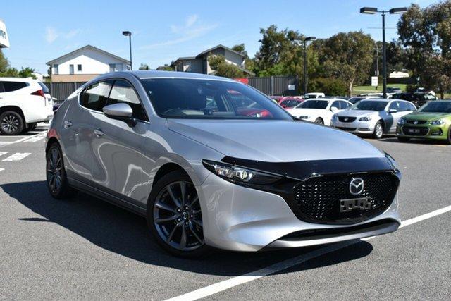Used Mazda 3 BP2H76 G20 SKYACTIV-MT Touring, 2019 Mazda 3 BP2H76 G20 SKYACTIV-MT Touring Silver 6 Speed Manual Hatchback