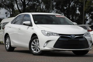 2015 Toyota Camry AVV50R Altise White 1 Speed Constant Variable Sedan Hybrid.