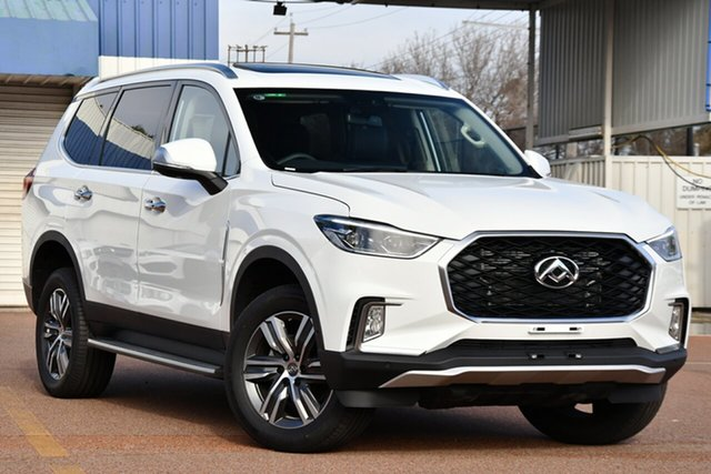 New LDV D90 SV9A MY19 Executive Blacktown, 2020 LDV D90 SV9A MY19 Executive Blanc White 8 Speed Sports Automatic Wagon