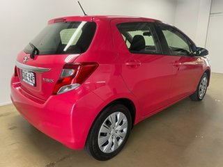 2016 Toyota Yaris NCP130R MY15 Ascent Pink 4 Speed Automatic Hatchback.