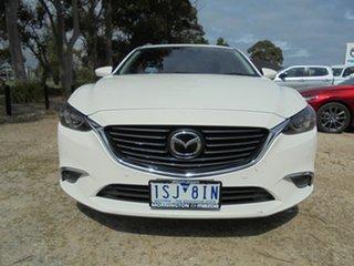 2015 Mazda 6 GJ1022 Atenza SKYACTIV-Drive White 6 Speed Sports Automatic Wagon.