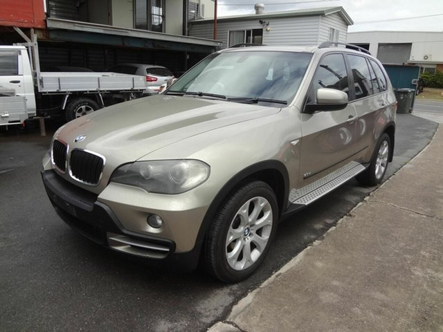 Used BMW X5 E70 3.0D Coopers Plains, 2008 BMW X5 E70 3.0D Brown 6 Speed Auto Steptronic Wagon