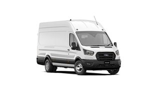 2021 Ford Transit VO 2021.25MY 470E (High Roof) Frozen White 6 Speed Manual Van.