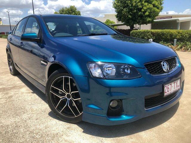 Used Holden Commodore VE II MY12 SV6, 2012 Holden Commodore VE II MY12 SV6 Blue 6 Speed Sports Automatic Sedan