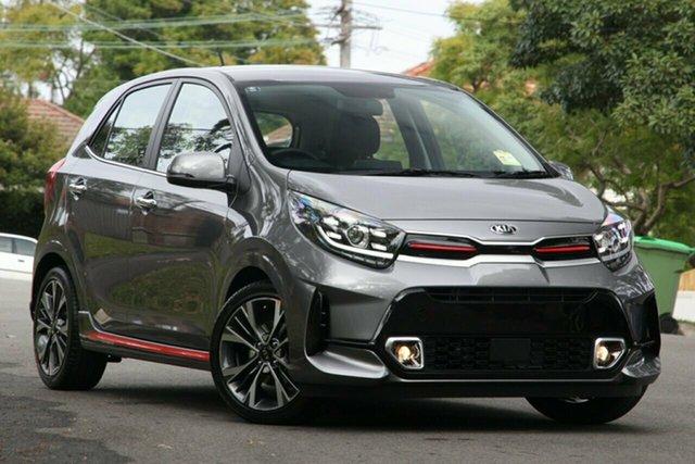New Kia Picanto JA MY21 GT-Line St Marys, 2020 Kia Picanto JA MY21 GT-Line Astro Grey 4 Speed Automatic Hatchback