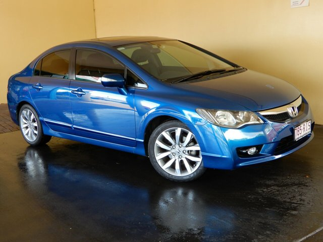 Used Honda Civic MY10 Sport, 2010 Honda Civic MY10 Sport Blue 5 Speed Automatic Sedan