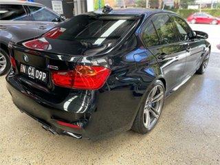 2015 BMW M3 F80 LCI Black 7 Speed Sports Automatic Dual Clutch Sedan