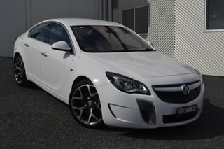 2015 Holden Insignia GA MY16 VXR AWD White 6 Speed Sports Automatic Sedan.